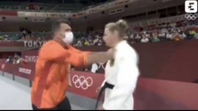 Viral Video Pelatih Tampar Wajah Atlet Olimpiade Sebelum Bertanding, Ternyata Ini Penyebabnya