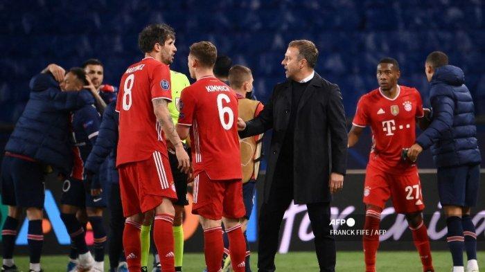Hasil Liga Champions: Hansi Flick Belum Bisa Terima Kenyataan Bayern Munchen Disingkirkan PSG