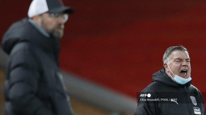 FAKTA Liverpool Gagal Menang Atas West Brom: Capaian Sam Allardyce Sang Pemutus Keangkeran Anfield