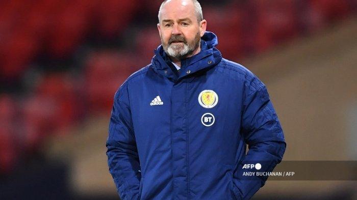 Pelatih kepala Skotlandia Steve Clarke