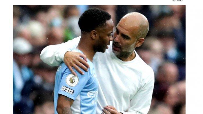 Berita Manchester City, Raheem Sterling Bersedia ke Barcelona, Guardiola  Ancam Mundur - Tribunnews.com Mobile
