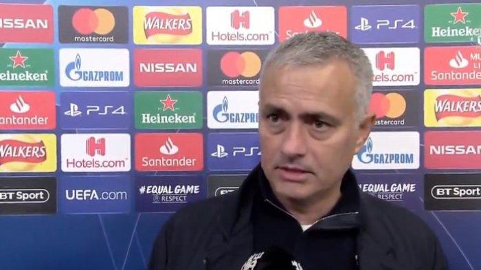 Jose Mourino Menangis Saat Real Madrid Dikalahkan Bayern Muenchen di Final Liga Champions