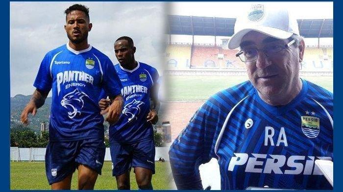 Pelatih Persib Bandung, Robert Alberts, bicara soal nasib dua pemain seleksi asal Brasil, Joel Vinicius dan Wander Luiz.