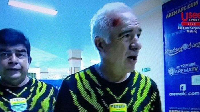 Kepada Media Argentina, Mario Gomez Curhat Brutalnya Suporter di Laga Arema FC Vs Persib Bandung
