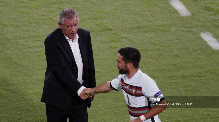 Pemain Portugal Menangis di Ruang Ganti, Fernando Santos Coba Tebar Optimisme