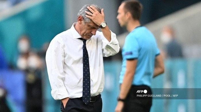 Hasil Euro 2020: Fernando Santos Bicara Penyebab Kekalahan Portugal Atas Jerman