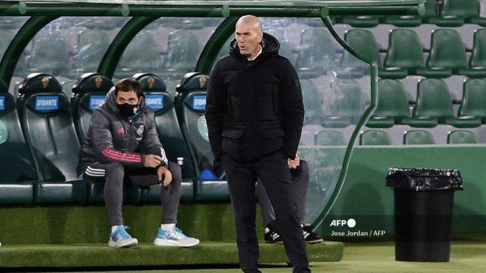 HASIL LIGA SPANYOL - Zidane Bongkar Penyebab Real Madrid Gagal Menang atas Elche