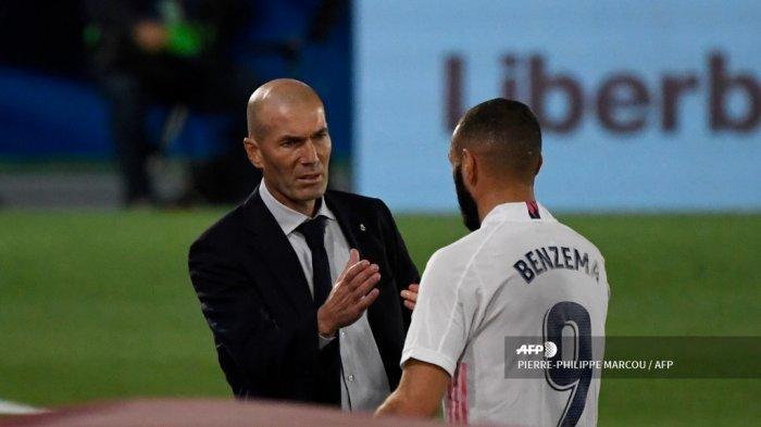 Hasil Liga Spanyol: Laga ke-150 Zidane Berakhir Kekalahan, Posisi Real Madrid Masih di Pucuk