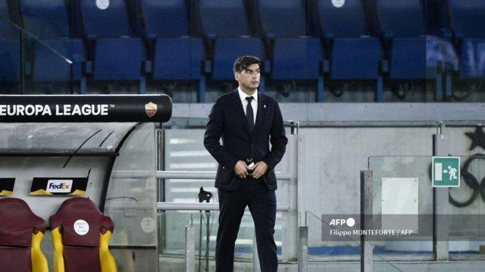 Manchester United Beri Kado Perpisahan Menyakitkan Bagi Pelatih AS Roma, Fonseca Seret Nama Mourinho