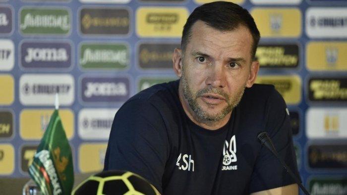 Tanggapi Hasil Akhir Ukraina vs Makedonia Utara, Andriy Shevchenko Ungkap Kekecewaan