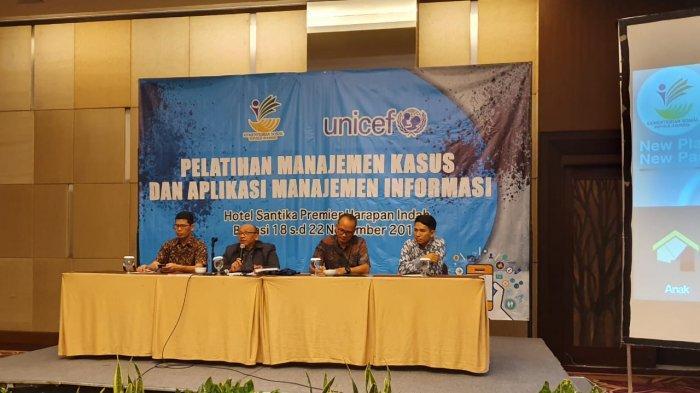 Pelatihan Manajemen Kasus Dan Aplikasi Manajemen Informasi
