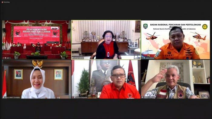 Saat Megawati Tegur Ganjar Pranowo soal Penanganan Banjir Rob di Semarang