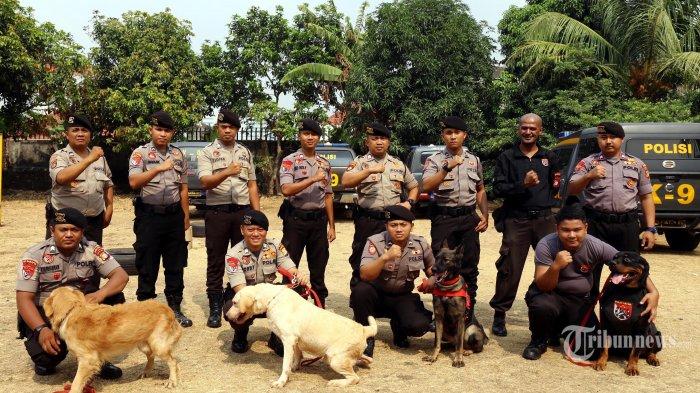 Polri Turunkan Anjing K9 Kejar Cai Changpan yang Bersembunyi di Hutan Tenjo