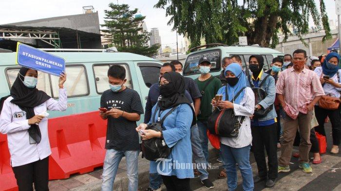 Operasional KRL Jabodetabek Masih Terbatas, BPTJ Sediakan Bus Gratis di 8 Stasiun