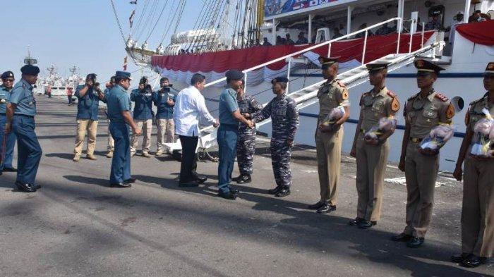 Bawa Misi Diplomasi, 103 Taruna AAL Berlayar Layari Sembilan Negara dengan KRI Bima Suci