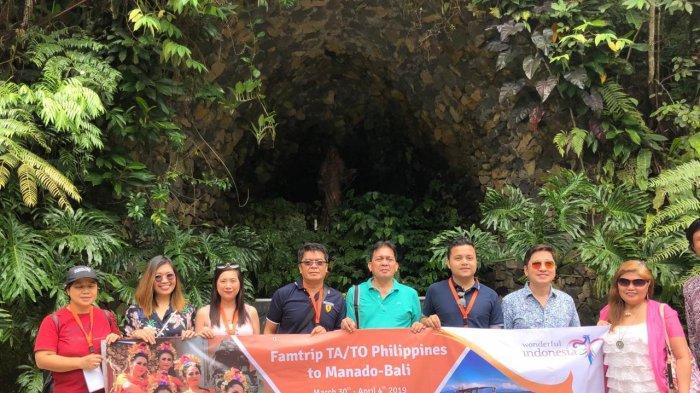 Kementerian Pariwisata Ajak Perwakilan 6 Travel Agent Filipina Pelesir ke Bukit Doa Mahawu