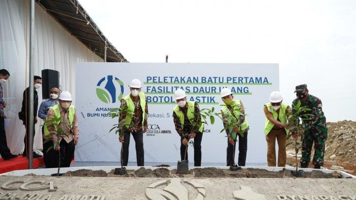Komitmen soal Isu Lingkungan, Coca Cola Amatil Indonesia Bangun Pabrik Daur Ulang di Cikarang