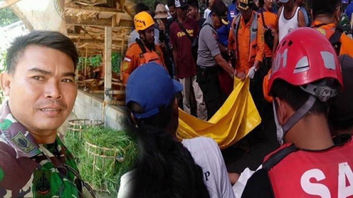 Jasad Anggota TNI I Ketut Susila Adnyana Ditemukan 7 Km dari Lokasi Korban Terseret Arus