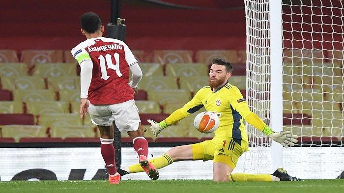 Slavia Praha vs Arsenal: Mantan Pemain The Gunners Suruh Arteta Jadikan Aubameyang Starter