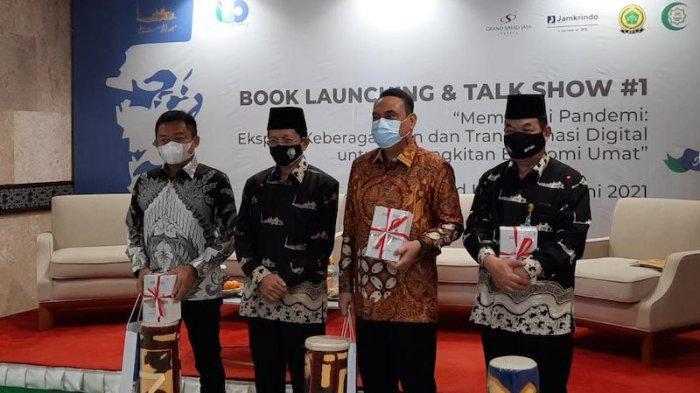 Luncurkan Lima Buku, Imam Besar Istiqlal Ingin Ada Nuansa Batin di Tengah Masyarakat