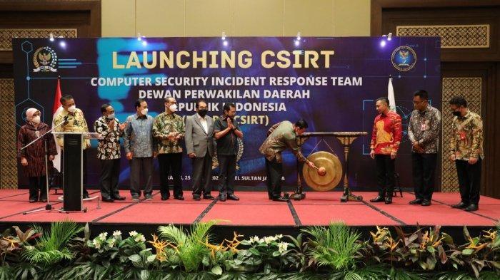 DPD RI Luncurkan Program CSIRT Tahun 2021