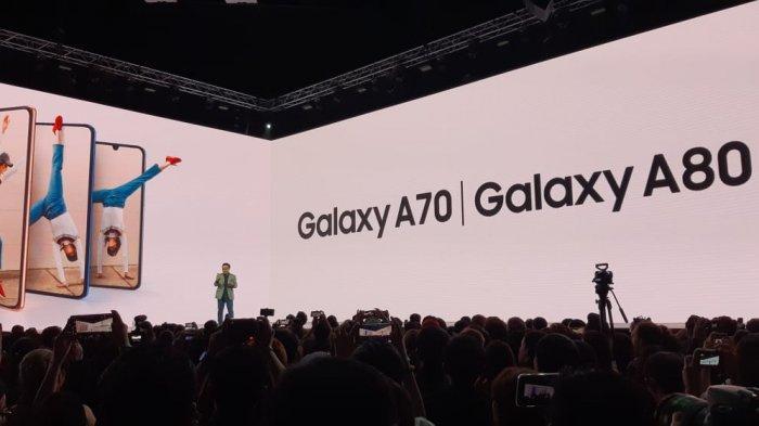 Samsung Galaxy A80 Resmi Masuk Indonesia, Tambah Rp 600 Ribu Bisa Dapat Edisi Khusus Blackpink