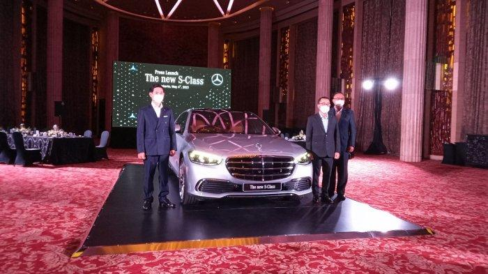 Lengkapi Segmen Luxury Car, Mercedes All New S Class Resmi Meluncur di Indonesia