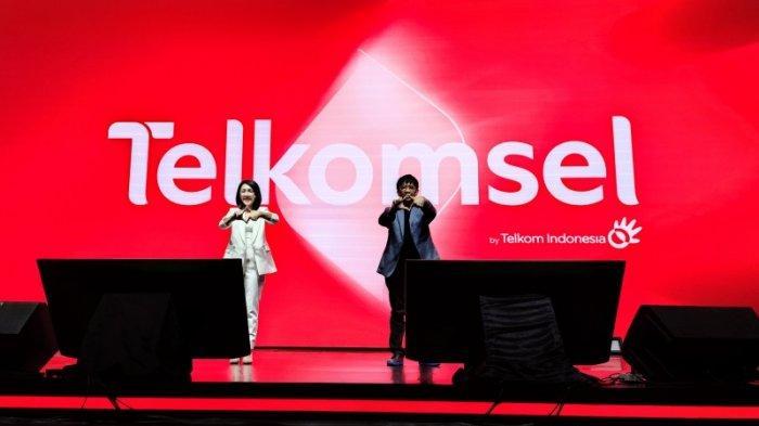 Peluncuran rebranding Telkomsel, Jumat (18/6/2021).