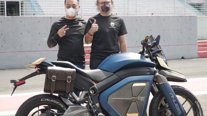 Perusahaan Ary Sigit Soeharto Kenalkan Sepeda Motor Listrik Anubis, Simak Harga dan Spesifikasinya