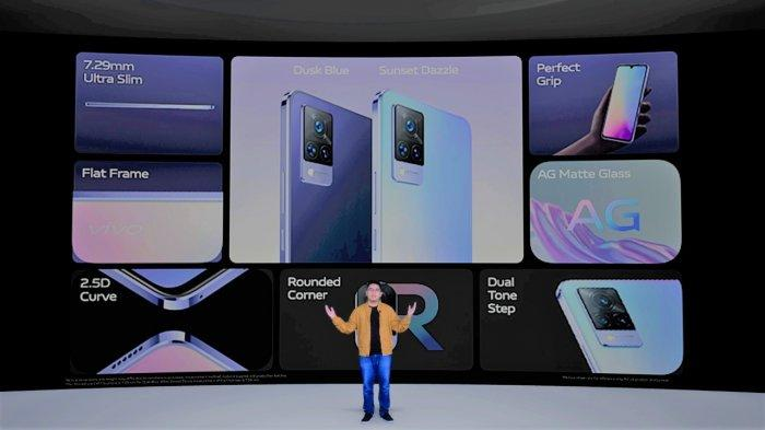 Peluncuran smartphone Vivo V21 5G