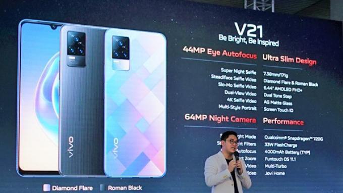Vivo V21 Resmi Meluncur Hari Ini, Bawa Sejumlah Teknologi Terkini