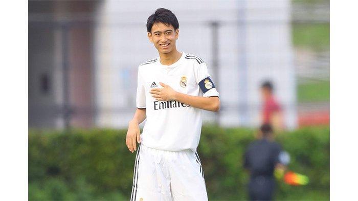 PROFIL Takuhiro Nakai: The Next Iniesta Asal Jepang Milik Real Madrid, Pelengkap Messi Negeri Sakura