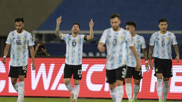 Copa America 2021: Lionel Messi Akhiri 1672 Hari Gol Perekik, Scaloni Puas Argentina Agresif
