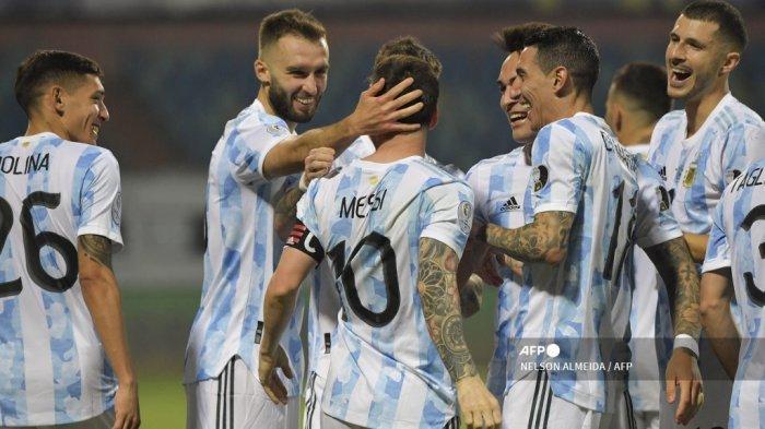Venezuela Vs Argentina Kick-off Jumat Pukul 07.00 WIB, 11 Pemain Tim Tango Kantongi Kartu Kuning