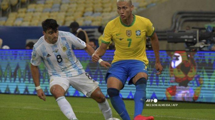 Sepakbola Olimpiade Tokyo, Brasil Lumat Jerman, Richarlison Ukir Hat-trick Babak Pertama