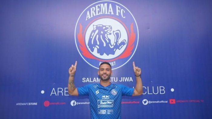 Alasan Arema FC Rekrut Playmaker Asal Brasil di Tengah Ketidakpastian Liga 1 2020