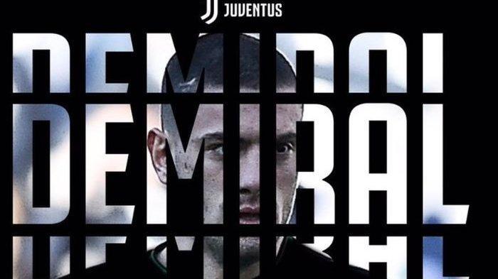 Bek tengah baru Juventus, Merih Demiral
