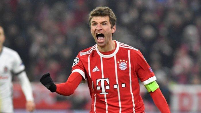 Thomas Mueller Pemain Jerman Paling Sering Tampil di Liga Champions
