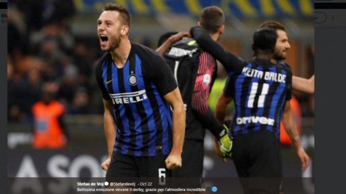 Profil Stefan de Vrij, Bek Tengah Inter Milan Asal Belanda yang Jadi Incaran Liverpool