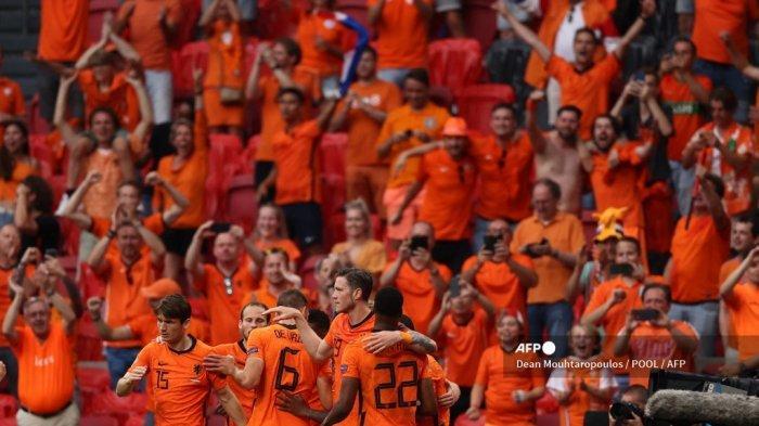 Hasil Euro 2020: Belanda Sempurna di Dua Laga, Oranje Jadi Penguasa Grup C