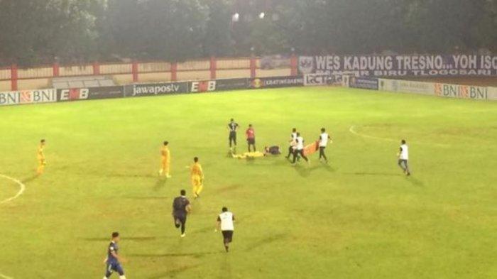 Update Kondisi Jajang Mulyana setelah Pingsan Melawan PSIS Semarang
