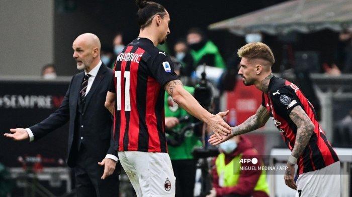 AC Milan vs Sassuolo Liga Italia, Stefano Pioli Ragukan 4 Pemain Rossoneri, Romagnoli Masih Absen