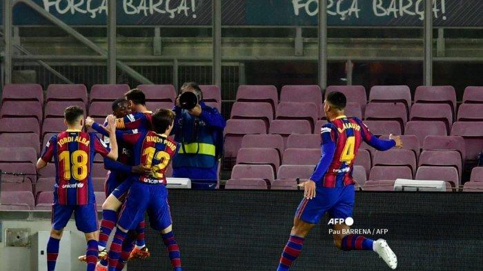 HASIL Liga Spanyol - Bocah Nakal Blaugrana jadi Penyelamat Barcelona atas Real Valladolid