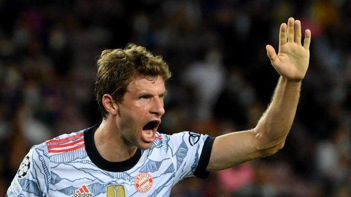 Hasil Barcelona vs Bayern Munchen di Babak Pertama Liga Champions, Muller Bawa Tim Tamu Unggul 0-1