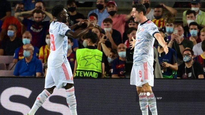 Hasil Akhir Barcelona vs Bayern Munchen di Liga Champions, Lewandowski Tenggelamkan Tuan Rumah 0-3