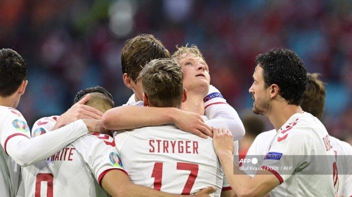 Hasil Euro 2021: Denmark Hancurkan Wales 4-0, Respek Eriksen, Brace Dolberg, Ditutup Gol Braithwaite