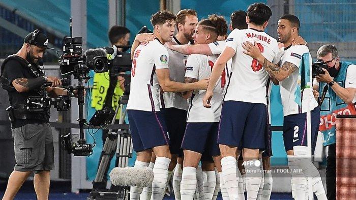 Fakta Menarik Inggris ke Semifinal Euro 2021, Rekor Kane dan Southgate hingga Gol Debut Henderson
