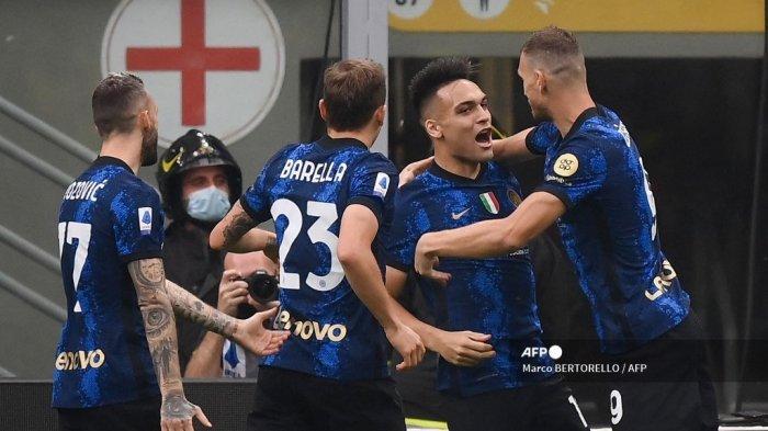 Skor Inter Milan vs Atalanta Babak I - Comeback 8 Menit La Dea Buat Nerazzurri Tertinggal 1-2