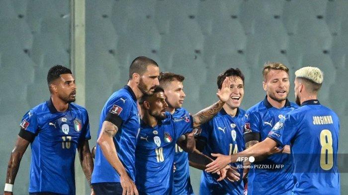 Hasil Kualifikasi Piala Dunia 2022 - Bulgaria Imbangi Italia, Chiesa Pamer Skill Lewati 5 Pemain