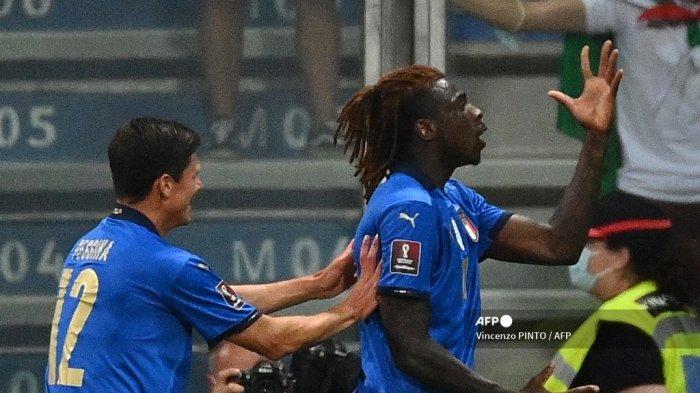 Striker Anyar Juventus Jadi Aktor Kemenangan Italia atas Lithuania, Moise Kean Bangga Cetak 2 Gol